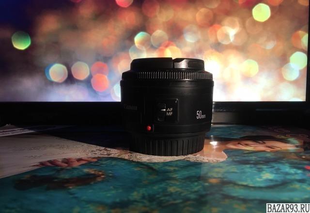 Canon 50 mm 1: 1. 8