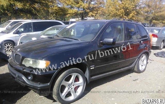 Авторазборка бмв 2002 BMW X5 4. 6IS Е53 4. 6i АКПП
