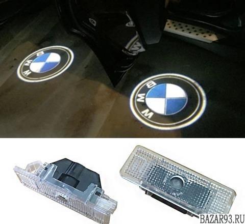 Подсветка двери,  логотип BMW