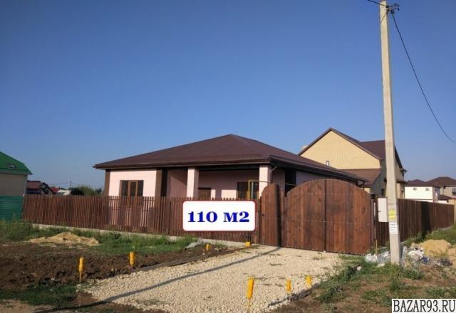 Продам дом 1-этажный дом 110 м² ( пеноблоки )  на участке 4 сот.  ,  9 км до гор