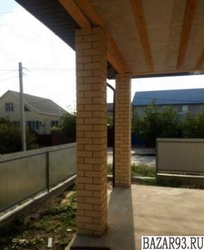 Продам дом 1-этажный дом 90 м² ( кирпич )  на участке 4 сот.  ,  2 км до города