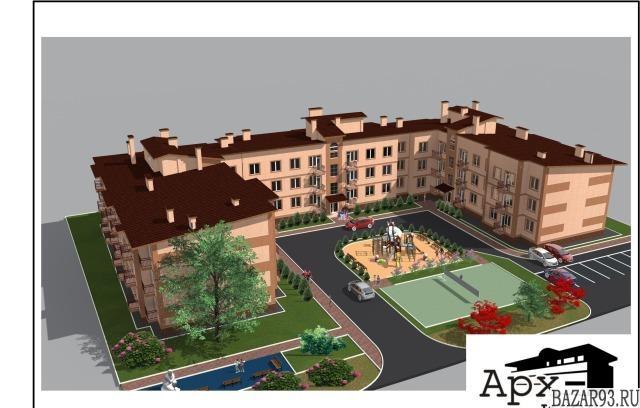 Продам квартиру в новостройке 1-к квартира 36. 2 м² на 3 этаже 3-этажного моноли