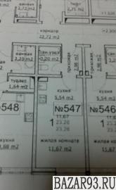 Продам квартиру в новостройке ЖК «Метеора» ,  3 очередь Студия 23. 3 м² на 3 эта