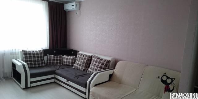 Сдам квартиру посуточно 1-к квартира 46 м² на 7 этаже 15-этажного монолитного до