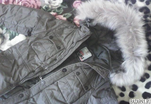 Зимняя куртка на мальчика 8-10 лет