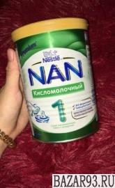 Детская смесь нан кисломолочный
