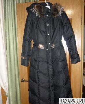 Пуховик фирменный и пальто осеннее