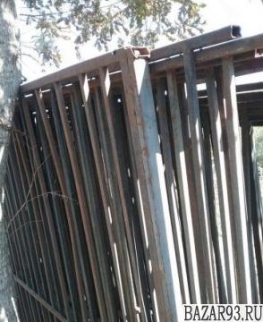 Заборные секции бу в хорошем состоянии