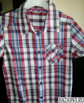 Рубашки 128-134 р-ры