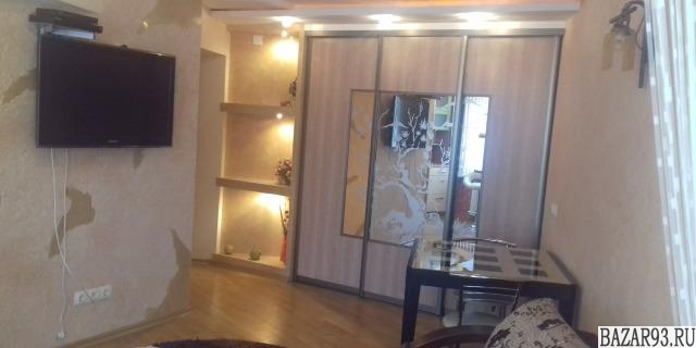 Сдам квартиру посуточно 1-к квартира 38 м² на 2 этаже 5-этажного кирпичного дома