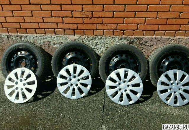 Зимние колеса dunlop 205x55 R16