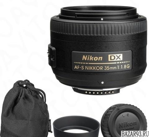 Nikon DX 35mm f/1. 8G AF-S Nikkor
