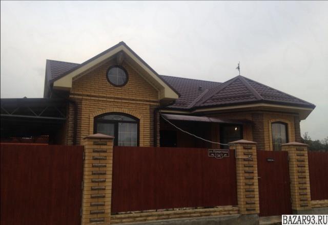 Продам дом 1-этажный дом 100 м² ( кирпич )  на участке 6 сот.  ,  в черте города