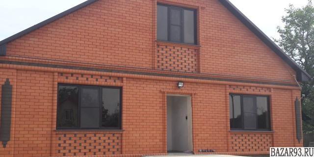 Продам дом 1-этажный дом 130 м² ( кирпич )  на участке 18 сот.  ,  5 км до город