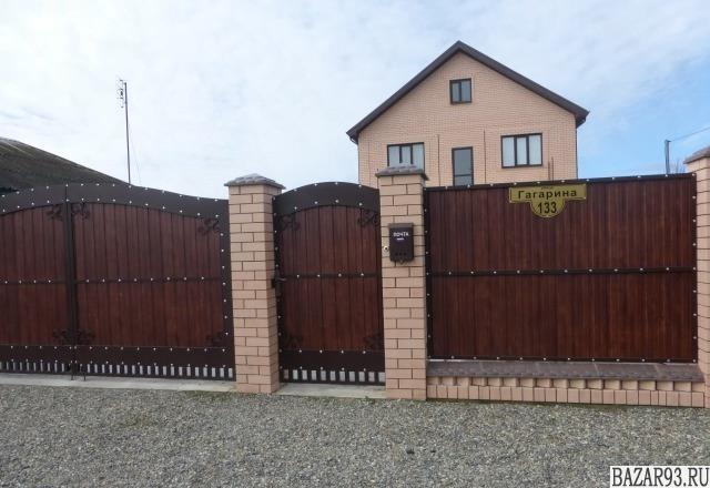 Продам дом 2-этажный дом 250 м² ( кирпич )  на участке 5 сот.  ,  в черте города