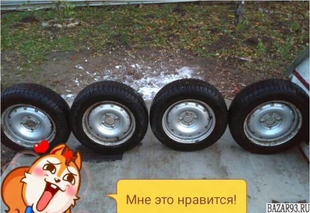 """Зимние шины """"hankook"""""""
