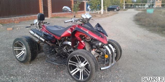 Шоссейный квадроцикл Армада 250 С-1 (хром)  - обмен
