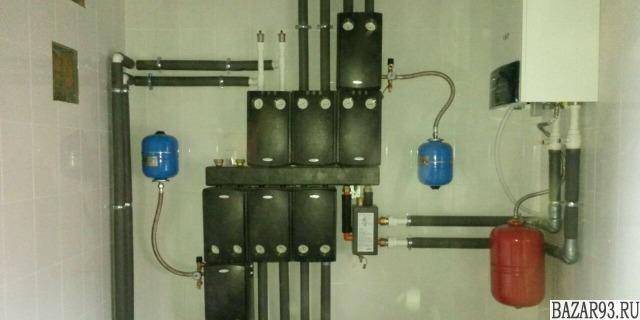 Монтаж отопления,  водоснабжения,  сантех работы