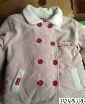 Новая тёплая детская курточка 2-4