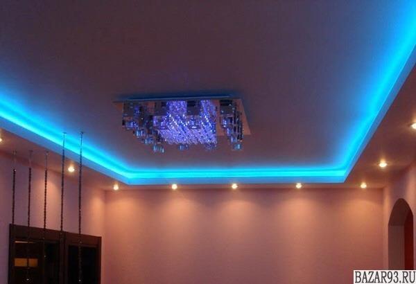Потолок натяжной сертификат 17, арт. 34