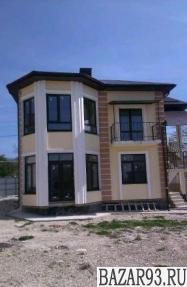 Продам дом 2-этажный дом 140 м² ( пеноблоки )  на участке 7 сот.  ,  8 км до гор