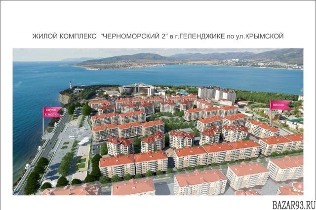 Продам квартиру в новостройке 1-к квартира 40 м² на 2 этаже 7-этажного монолитно