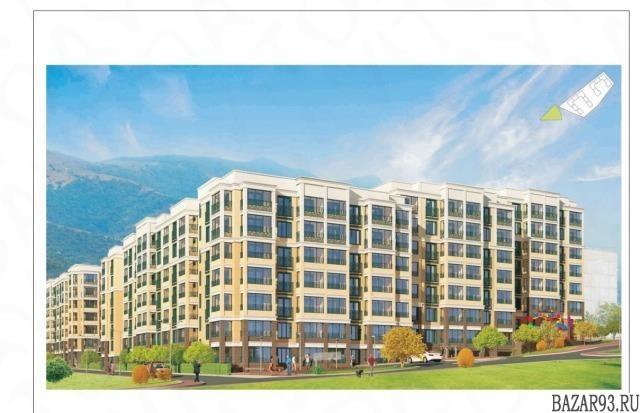 Продам квартиру в новостройке 1-к квартира 44 м² на 2 этаже 7-этажного монолитно