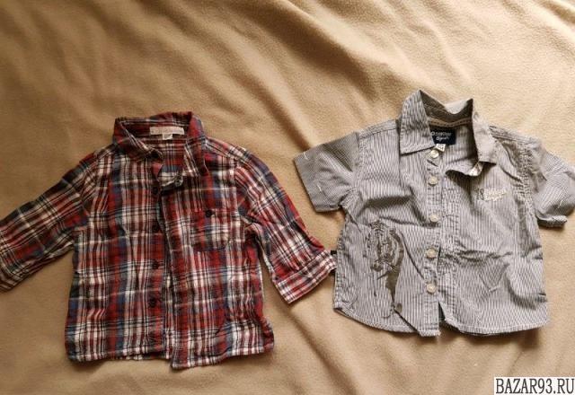 Рубашки на 6 мес
