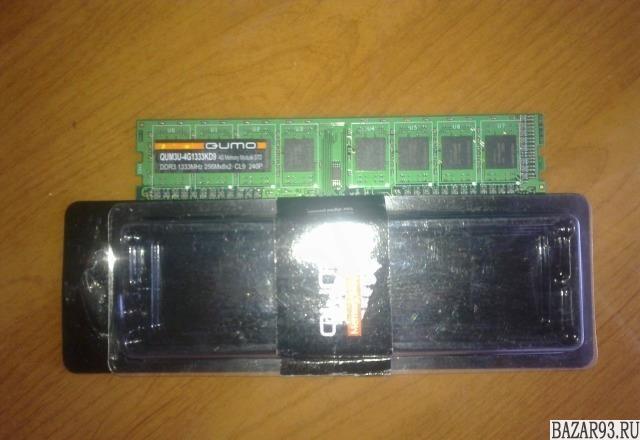 DDR3 qumo 4G 1333Mhz