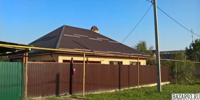 Продам дом 1-этажный дом 103 м² ( кирпич )  на участке 8. 3 сот.  ,  10 км до го