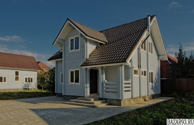 Продам дом 2-этажный дом 107 м² ( брус )  на участке 7 сот.  ,  в черте города
