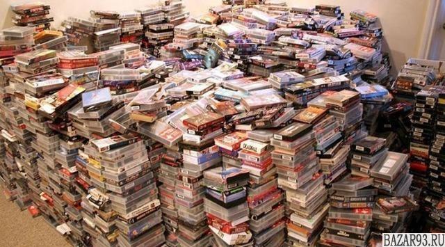 Видеокассеты 40 шт