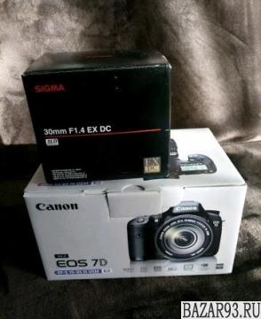 Продается Canon 7D