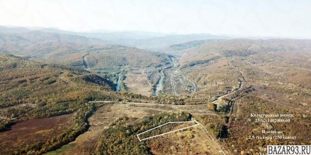Продам участок 2. 5 га ,  земли поселений (ИЖС)  ,  в черте города