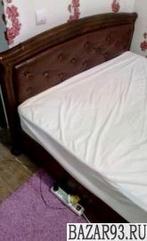 Деревянная ортопедическая кровать 140*2
