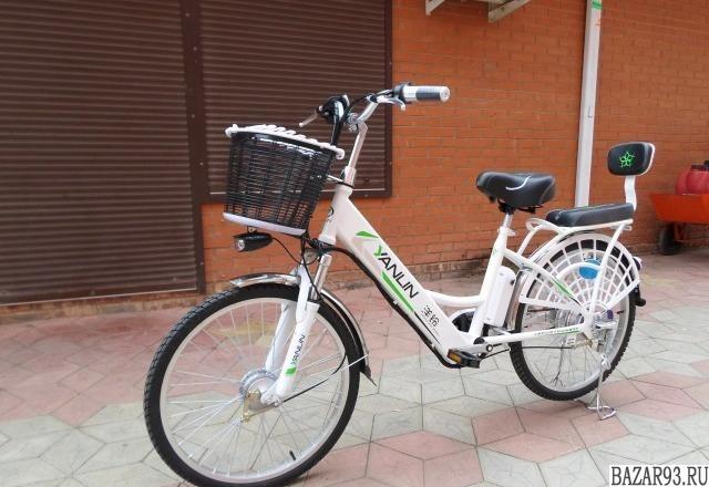 Электровелосипед 250w 48 вольт литий без прав