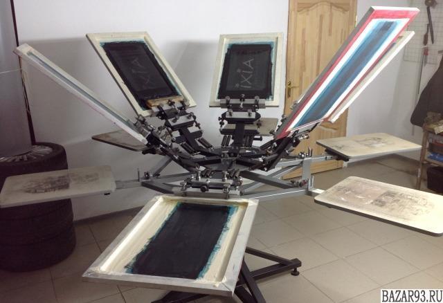 Комплект оборудования для шелкографии