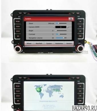 Штатная головное устройство volksvagen CRS-710