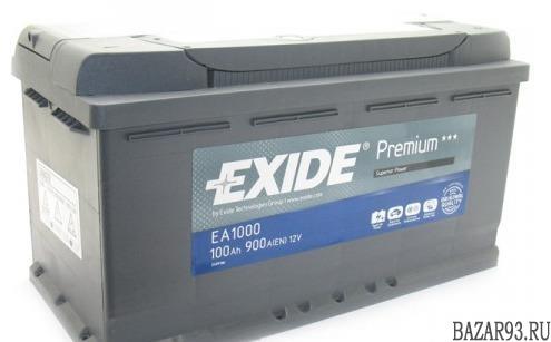 Аккумулятор exide 100 ah