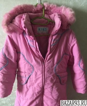 Курточка на девочку 4 года 104 см