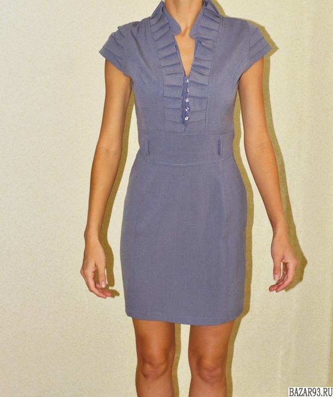 модное строгое платье