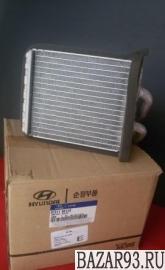 Новый.  Радиатор обогревателя Hyundai Porter-1