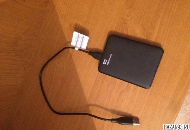 Внешний жесткий диск на 1 Tb