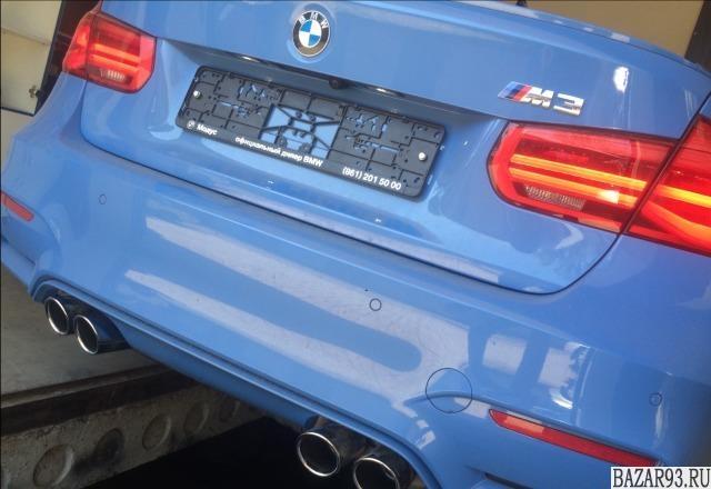 BMW 3-4-5-6 спортивный выхлоп pole position