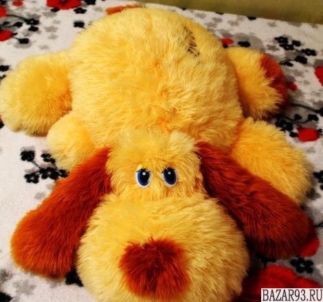Собака игрушка-подушка