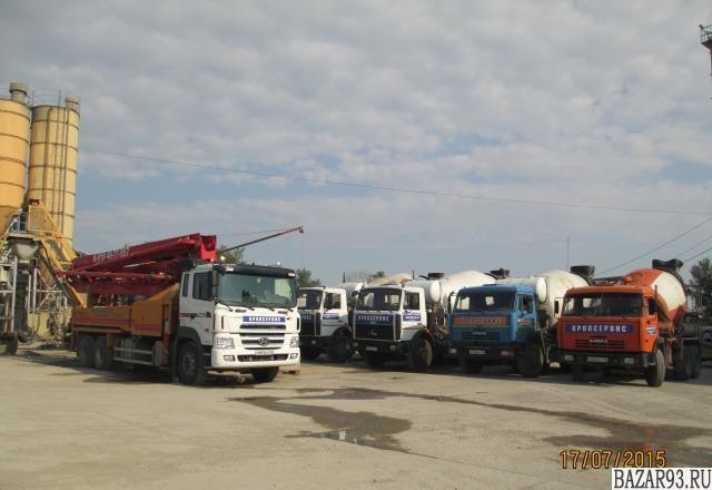 Услуги автобетононасоса,  доставка бетона