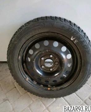 Зимняя шипованная резина Dunlop 205/55 r 16