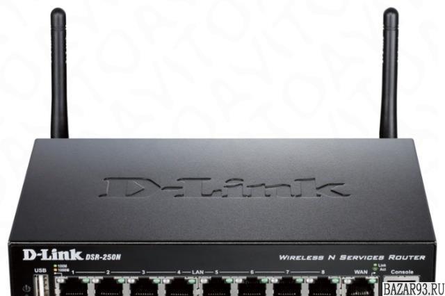 Wi-Fi-роутер D-Link DSR-250N