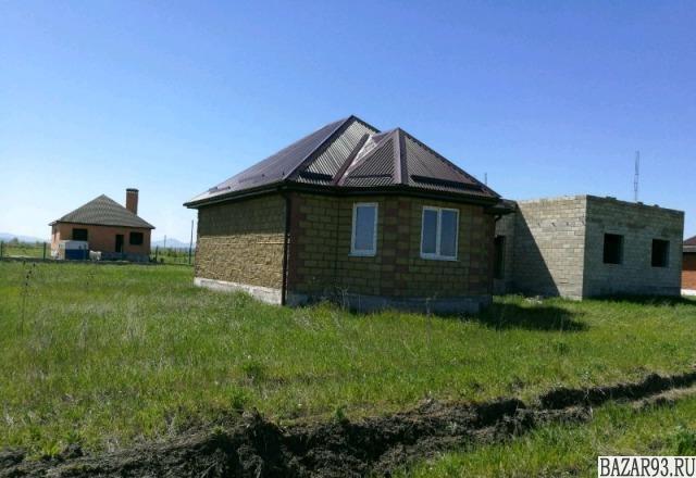Продам дом 1-этажный дом 56 м² ( экспериментальные материалы )  на участке 7 сот
