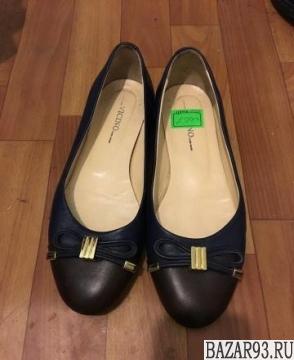 Продаю новые кожаные балетки